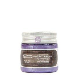 Prima Marketing Finnabair Metallique Acrylic Paint - French Lavender - 1 jar - 50ml (1.7 oz) / art