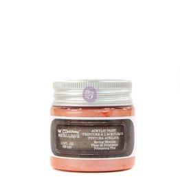 Prima Marketing Finnabair Metallique Acrylic Paint - Spring Blossom - 1 jar - 50ml (1.7 oz) / art paint
