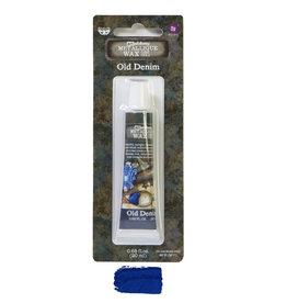 Prima Marketing Finnabair Metallique Wax - Old Denim   - 1 tin - 20ml / wax paste