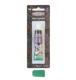 Prima Marketing Finnabair Metallique Wax - Mint Sparkle  - 1 tin - 20ml / wax paste