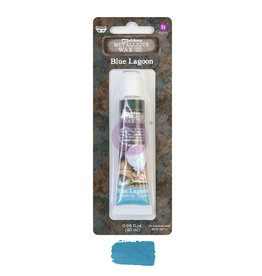 Prima Marketing Finnabair Metallique Wax - Blue Lagoon  - 1 tin - 20ml / wax paste
