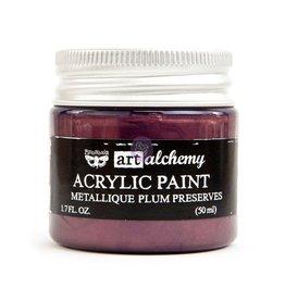 Prima Marketing Art Alchemy - Metallique - Plum Preserves / acrylic paint