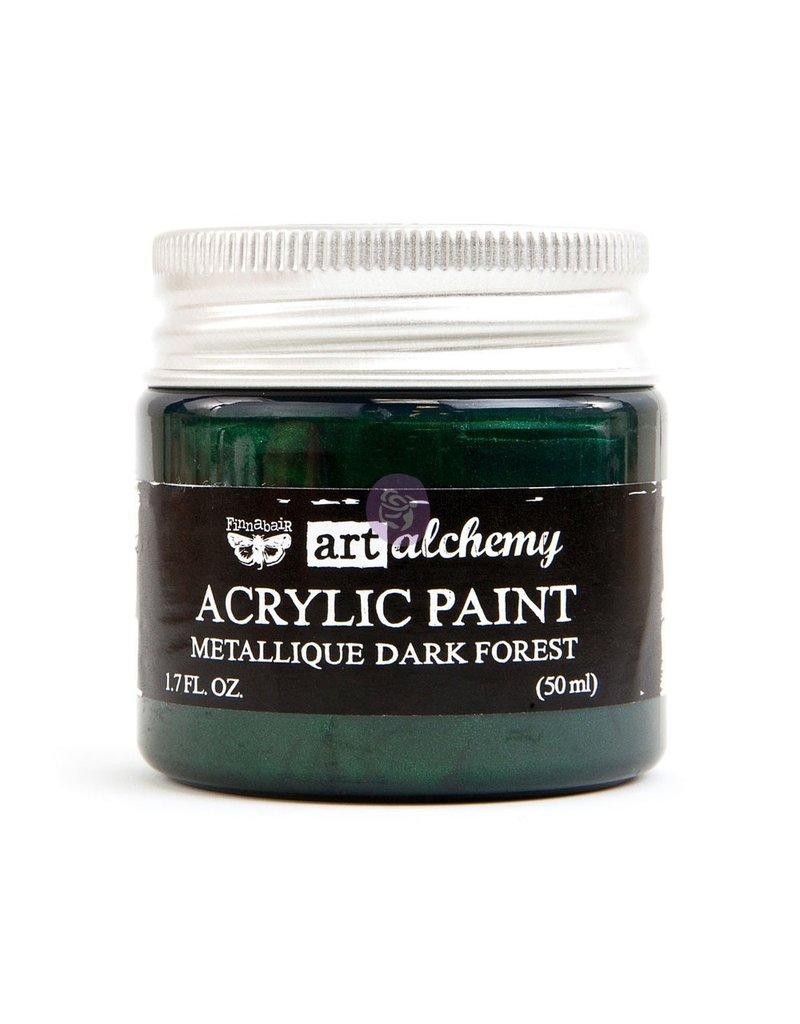 Prima Marketing Art Alchemy - Metallique - Dark Forest / acrylic paint