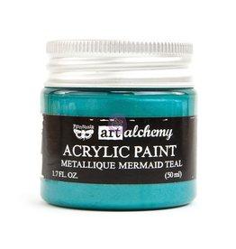 Prima Marketing Art Alchemy - Metallique - Mermaid Teal / acrylic paint