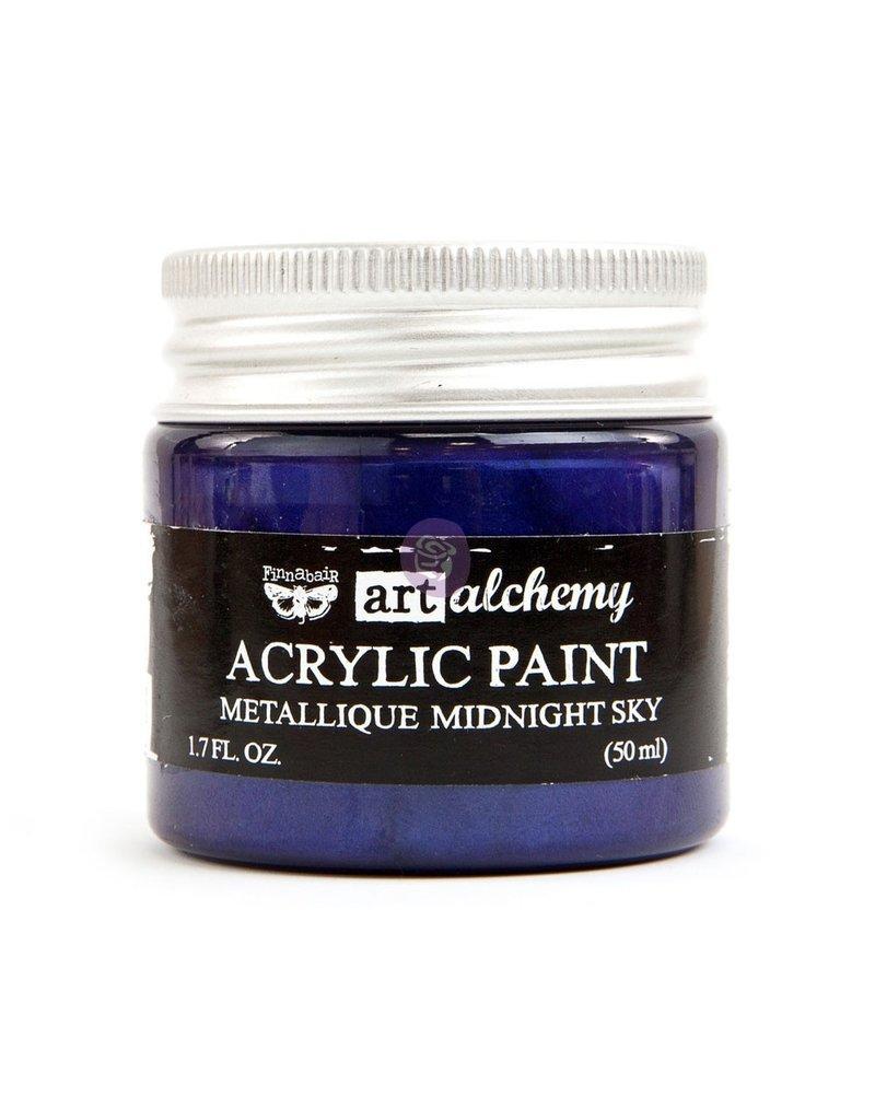 Prima Marketing Art Alchemy - Metallique - Midnight Sky / acrylic paint