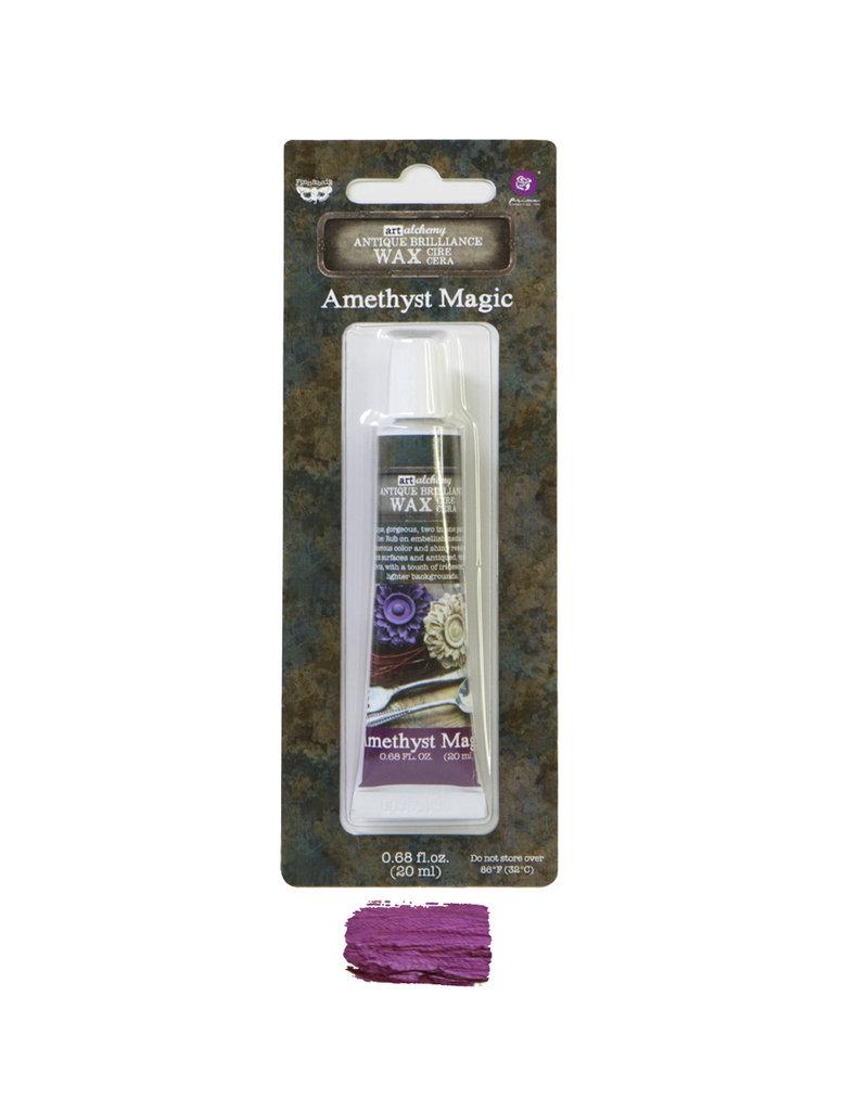 Prima Marketing Art Alchemy-Antique Brilliance-Amethyst Magic / paste, gel, gesso medium
