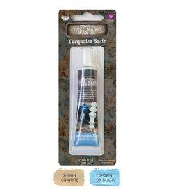 Prima Marketing Art Alchemy-Opal Magic Wax-Turquoise Satin / paste, gel, gesso medium