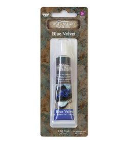 Prima Marketing Art Alchemy-Opal Magic Wax-Blue Velvet / paste, gel, gesso medium