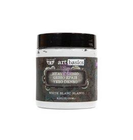 Prima Marketing HEAVY GESSO - WHITE 8.5 OZ / gel, paste, gesso medium