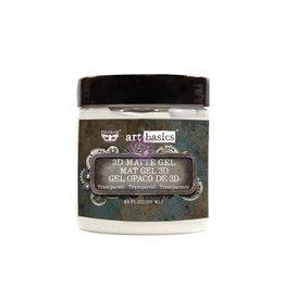 Prima Marketing 3D MATTE GEL 8.oz. / gel, paste, gesso medium USA)