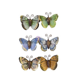 Prima Marketing Prima Flowers® Nature Lover Collection - Majestic Flight -  6 pcs / 2 in / mulberry paper