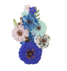 Prima Marketing Prima Flowers® Nature Lover Collection - Natural Beauty - 10 pcs / 0.5-2.5 in / mulberry paper