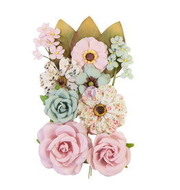 Prima Marketing Prima Flowers® My Sweet Collection - Forever Us -  12 pcs / 0.5-2.5 in / mulberry paper