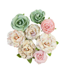 Prima Marketing Prima Flowers® My Sweet Collection - All For You -  8 pcs / 1-2 in / mulberry paper