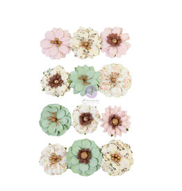 Prima Marketing Prima Flowers® My Sweet Collection - Sweetest -  12 pcs / 1.25 in / mulberry paper