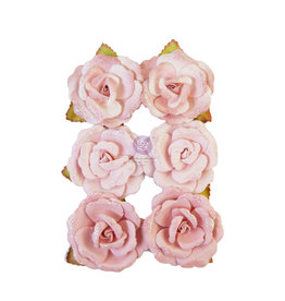 Prima Marketing Prima Flowers® My Sweet Collection - Stitched  -  6 pcs / 2.25 in / mulberry paper