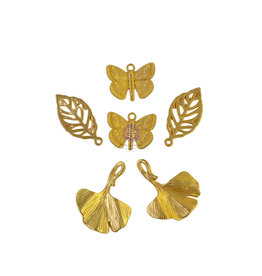 Prima Marketing Nature Lover Collection Metal Charms - 6 pcs / metal