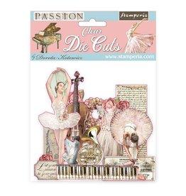 Stamperia Clear Die cuts - Passion