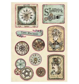 Stamperia Colored Wooden shape A5 - Tag