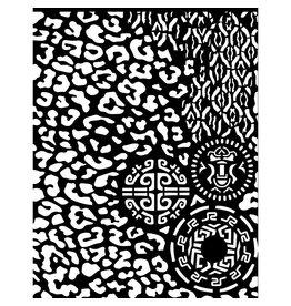 Stamperia Thick Stencil 20x25 cm - Amazonia animalier with tribals