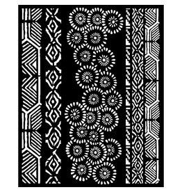 Stamperia Thick Stencil 20x25 cm - Amazonia tribals