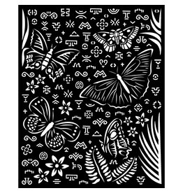 Stamperia Thick Stencil 20x25 cm - Amazonia butterflies