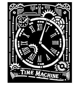 Stamperia Thick Stencil 20x25 cm - Clock