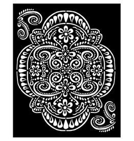 Stamperia Thick Stencil 20x25 cm - Atelier lace