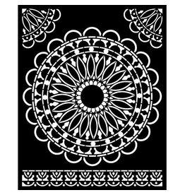Stamperia Thick Stencil 20x25 cm - Atelier round lace