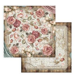 Stamperia Scrapbooking paper double face - Passion roses and laces