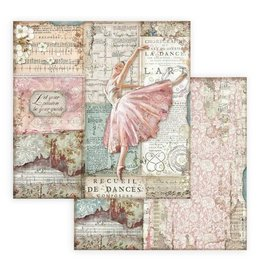 Stamperia Scrapbooking paper double face - Passion dancer