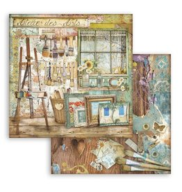 Stamperia Scrapbooking paper double face - Atelier