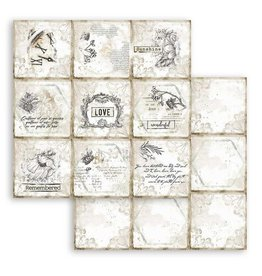 Stamperia Scrapbooking paper double face - Romantic Journal cards