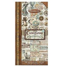 """Collectables 10 sheets cm 15x30,5 (6""""x12"""") Voyages Fantastiques"""