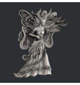 Zuri Design Zuri Mold-Butterfly Woman
