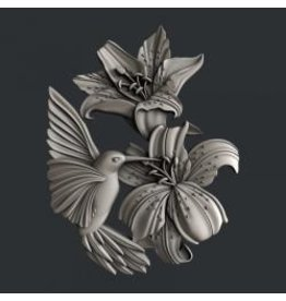 Zuri Design Zuri Mold-Colibri Flutters