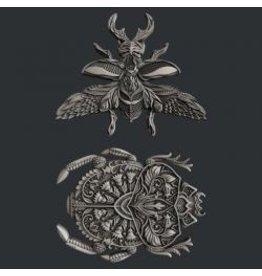 Zuri Design Zuri Mold-Lovable Bugs