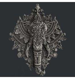Zuri Design Zuri Mold-Ornate Elephant