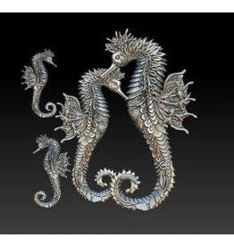 Zuri Design Zuri Mold-Seahorse Realm