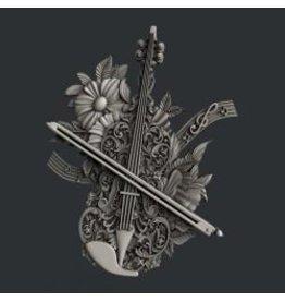 Zuri Design Zuri Mold- Violin Magic