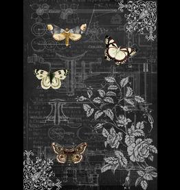 Decoupage Queen Mechanical Butterflies II
