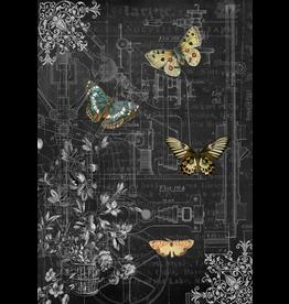 Decoupage Queen Mechanical Butterflies I