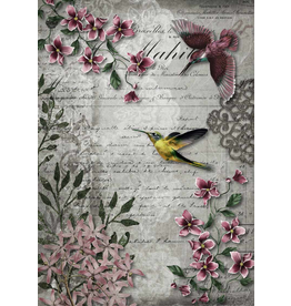 Decoupage Queen Hummingbird Song
