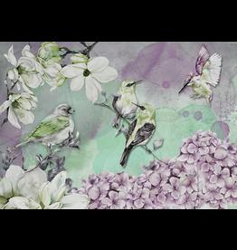 Decoupage Queen Pastel Birds