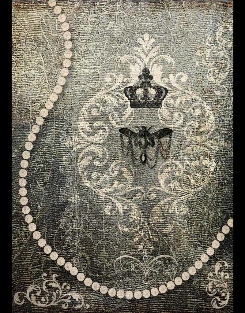 Decoupage Queen Bee Jewels