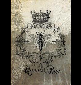 Decoupage Queen Bee Heirlooms