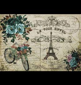 Decoupage Queen La Tour Eiffel