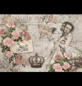 Decoupage Queen Rosie's Postcard