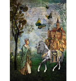 Decoupage Queen Story Book