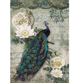 Decoupage Queen Peacock Majesty